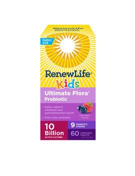 Renew Life Renew Life - Ultimate Flora Kids Probiotic 10 Billion - 60 chewable