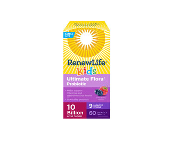 Renew Life - Ultimate Flora Kids Probiotic 10 Billion - 60 chewable