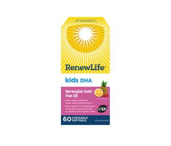 Renew Life - Kids DHA - 60 Chewable