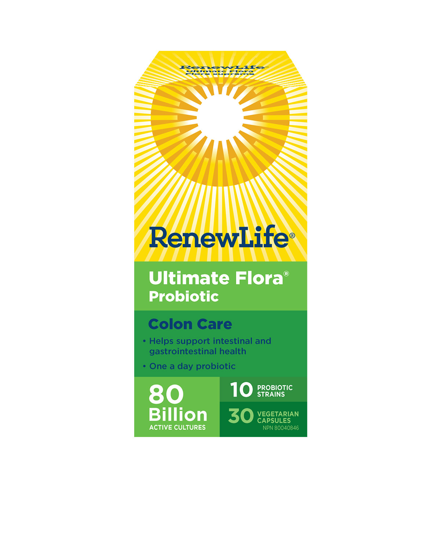 Renew Life Renew Life - Ultimate Flora Colon Care 80 Billion - 30 Caps