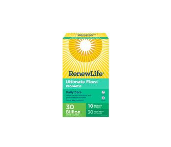 Renew Life - Ultimate Flora Daily Care 30 Billion - 30 V-Caps