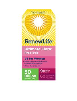 Renew Life Renew Life - Ultimate Flora VS for Women 50 Billion - 60 V-Caps