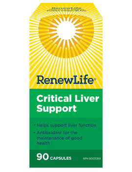 Renew Life Renew Life - Critical Liver Support - 90 V-Caps
