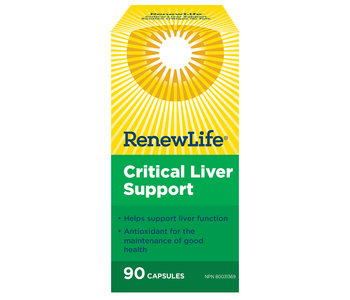 Renew Life - Critical Liver Support - 90 V-Caps