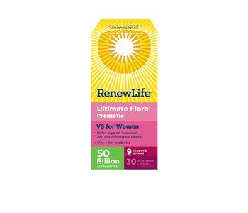 Renew Life - Ultimate Flora VS for Women 50 Billion - 30 V-Caps