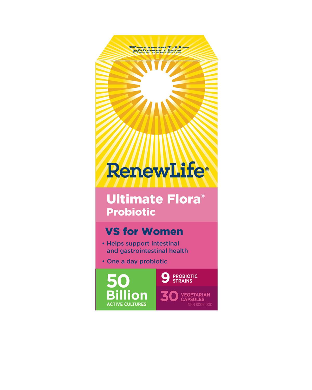 Renew Life Renew Life - Ultimate Flora VS for Women 50 Billion - 30 V-Caps