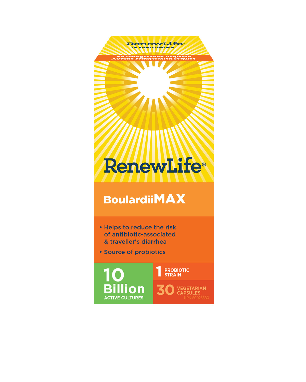 Renew Life Renew Life - Boulardii MAX 10 Billion - 30 V-Caps
