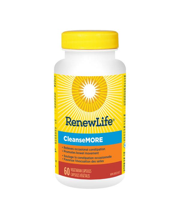 Renew Life - CleanseMore - 60 V-Caps
