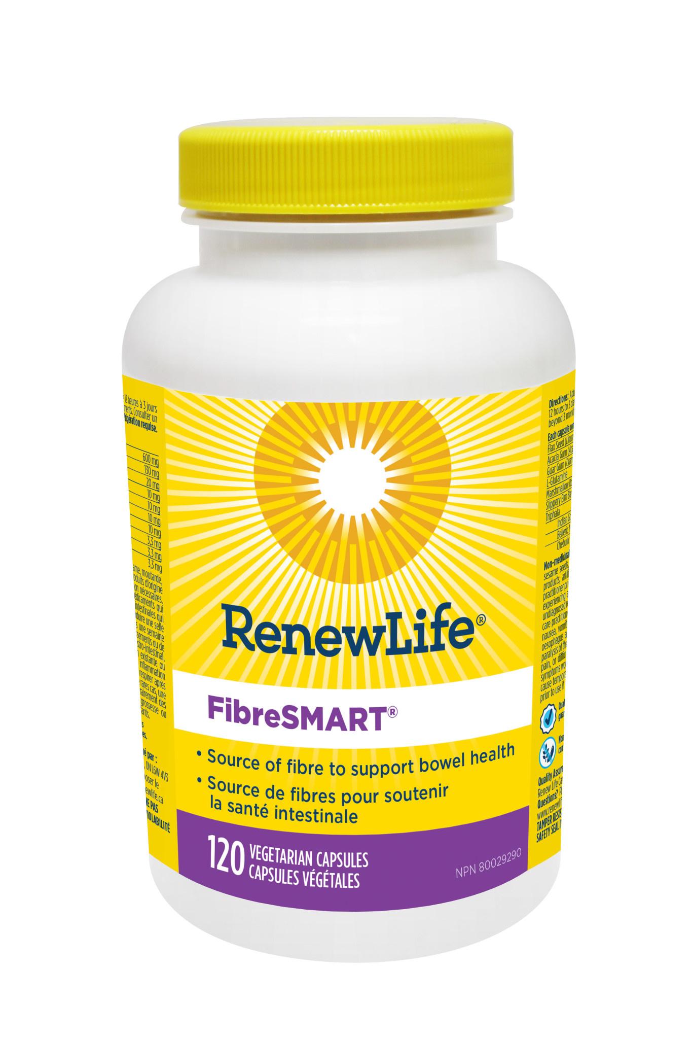 Renew Life Renew Life - FibreSmart - 120 V-Caps