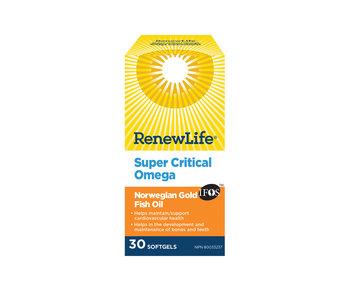 Renew Life - Omega Super Critical - 30 SG