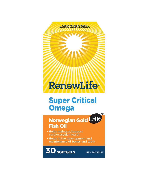 Renew Life Renew Life - Omega Super Critical - 30 SG
