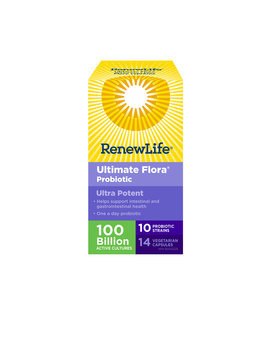 Renew Life Renew Life - Ultimate Flora Ultra Potent 100 Billion - 14 Caps