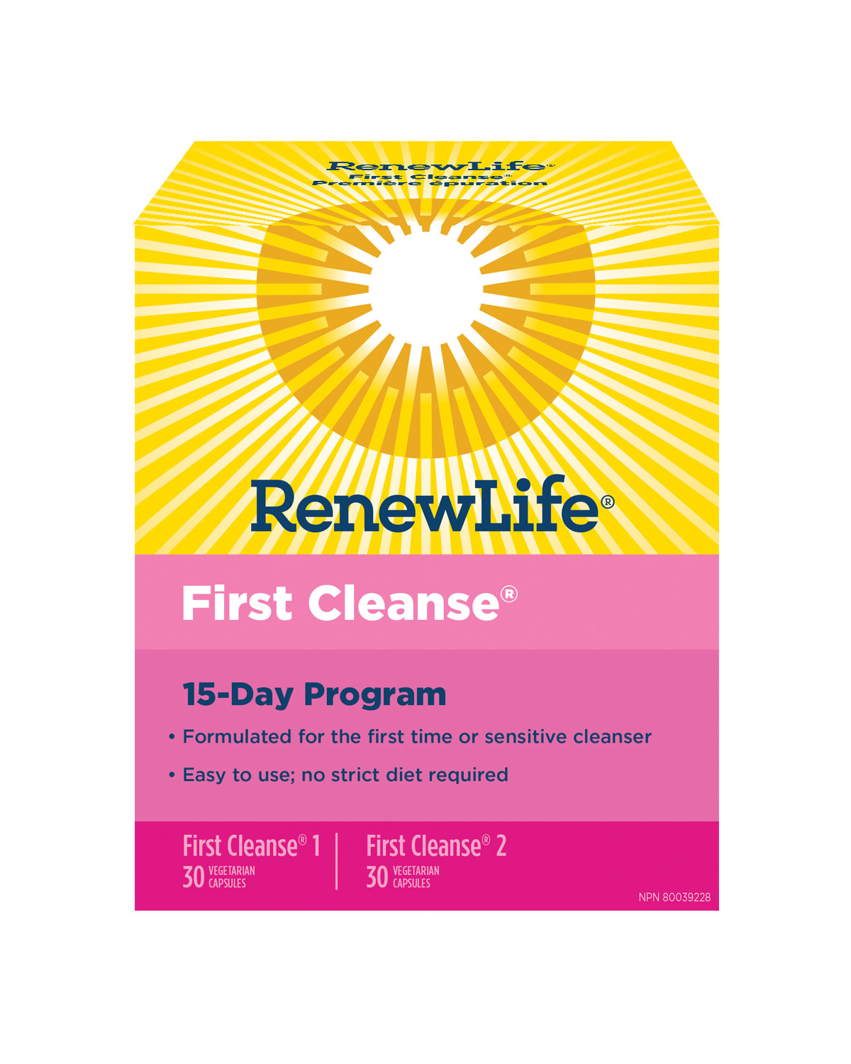 Renew Life Renew Life - First Cleanse 15 Day Program