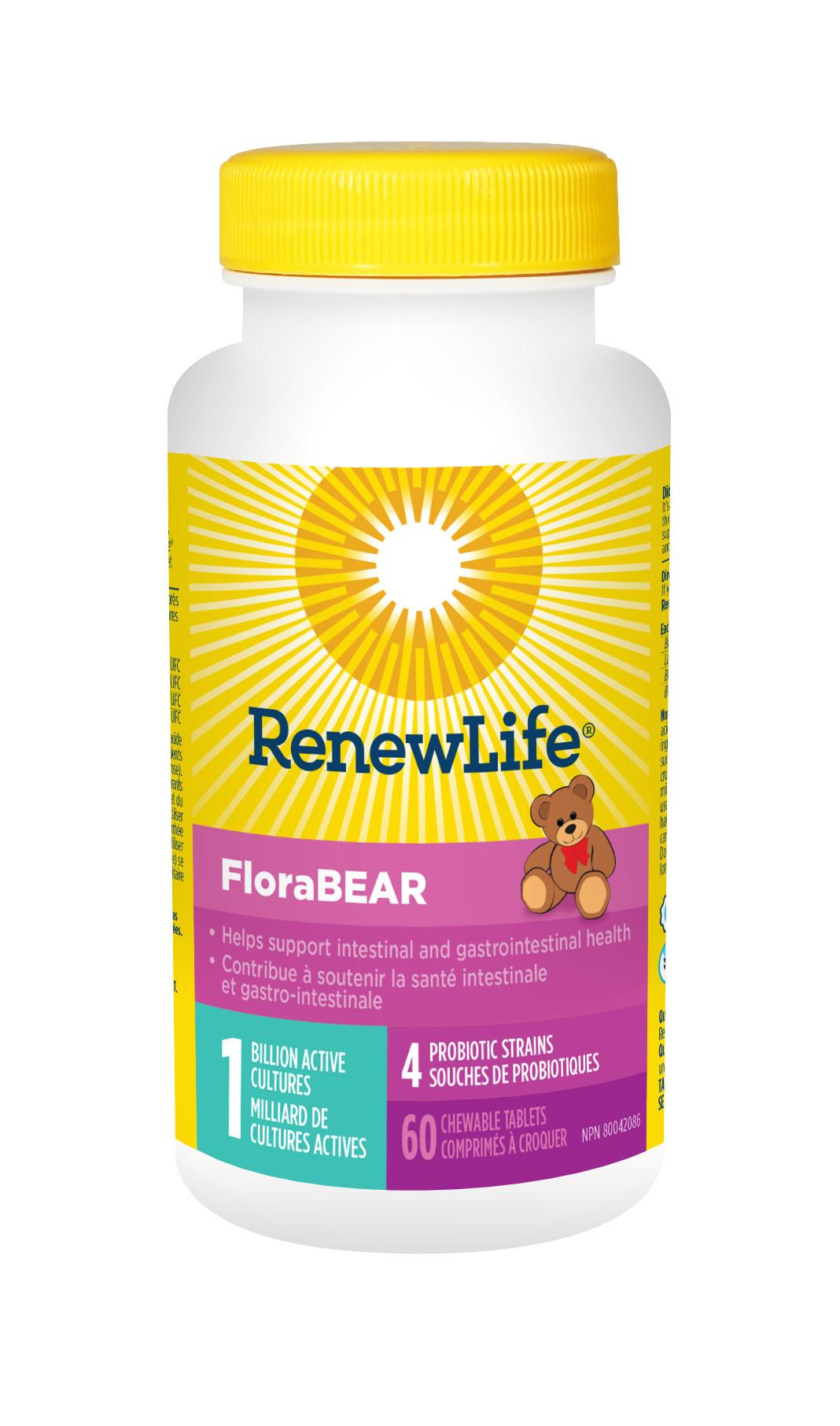 Renew Life Renew Life - FloraBear - 60 Caps