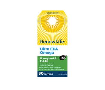 Renew Life - Ultra EPA Omega - 30 Caps