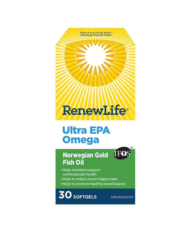 Renew Life Renew Life - Ultra EPA Omega - 30 Caps