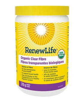 Renew Life Renew Life - Organic Clear Fibre - 270g