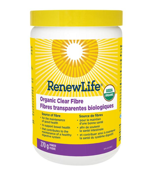 Renew Life - Organic Clear Fibre - 270g