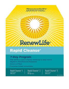 Renew Life Renew Life - Rapid Cleanse Pack 7 Day Program