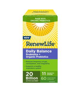 Renew Life Renew Life - Daily Balance Probiotics + Organic Prebiotics 20 Billion - 60 V-Caps