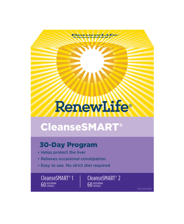 Renew Life - CleanseSmart Pack 30 Day Program