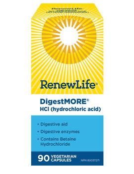Renew Life Renew Life - DigestMore HCI - 90 Caps