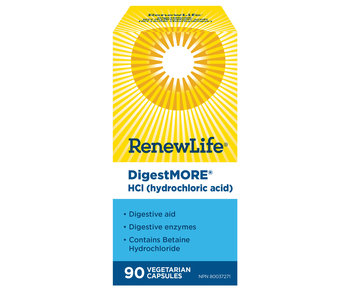 Renew Life - DigestMore HCI - 90 Caps