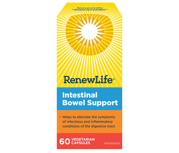 Renew Life - Intestinal Bowel Support - 60 V-Caps