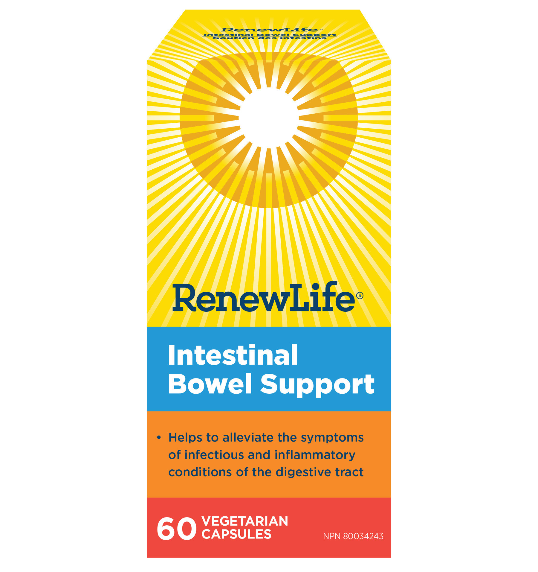 Renew Life Renew Life - Intestinal Bowel Support - 60 V-Caps