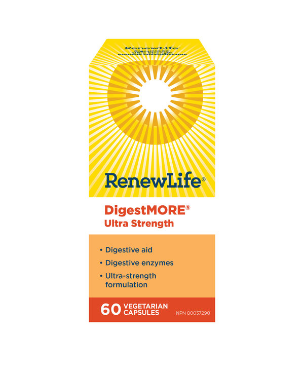 Renew Life - DigestMore Ultra - 60 V-Caps