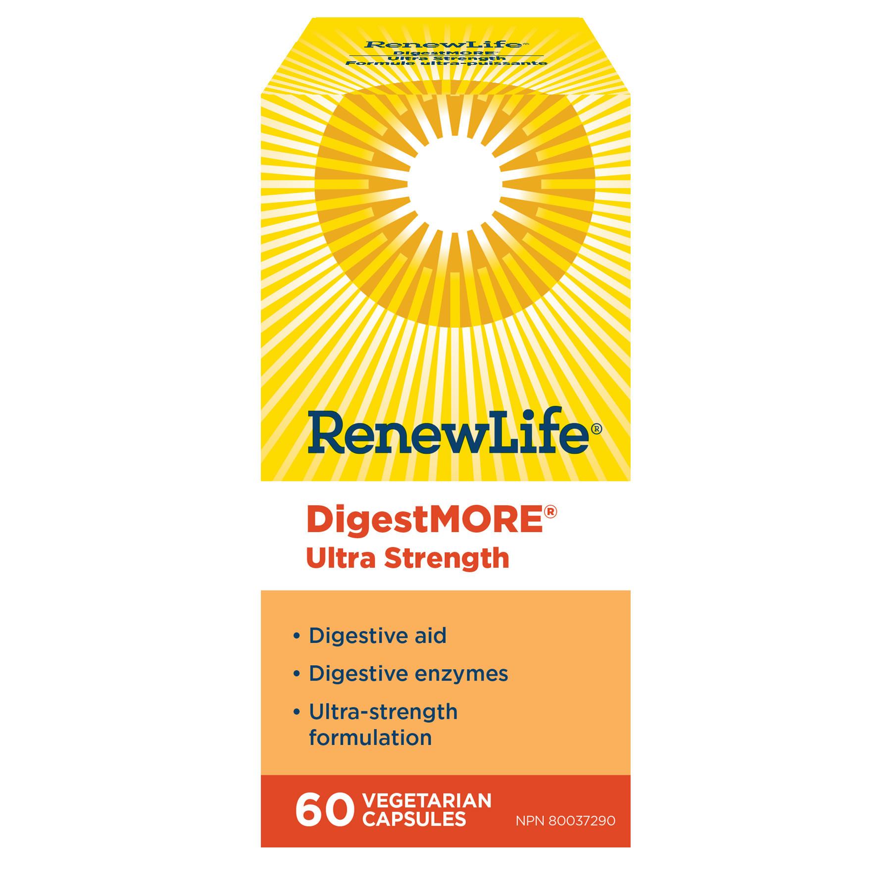 Renew Life Renew Life - DigestMore Ultra - 60 V-Caps