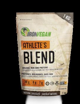 Iron Vegan Iron Vegan - Athletes Blend - Natural Chocolate - 1kg