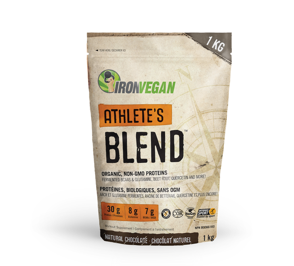 Iron Vegan Iron Vegan - Athletes Blend - Natural Chocolate - 1kg