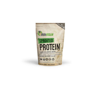 Iron Vegan - Sprouted Protein - Natural Vanilla - 1kg