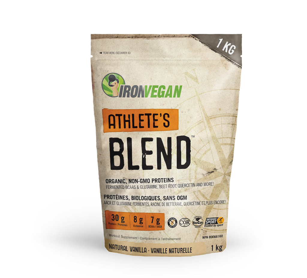 Iron Vegan Iron Vegan - Athletes Blend - Natural Vanilla - 1kg