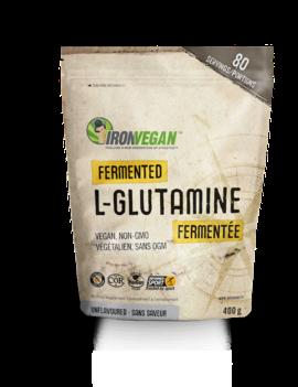 Iron Vegan Iron Vegan - Fermented L-Glutamine Powder - Unflavoured 80 servings 400g