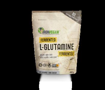 Iron Vegan - Fermented L-Glutamine Powder - Unflavoured 80 servings 400g