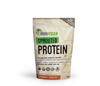 Iron Vegan - Sprouted Protein - Salted Caramel - 1kg