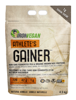 Iron Vegan Iron Vegan - Athlete's Gainer - Vanilla - 4.5Kg