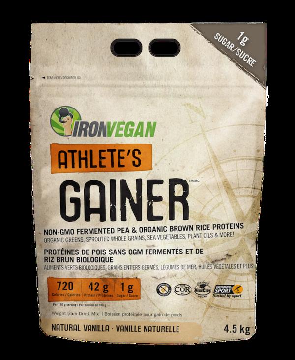 Iron Vegan - Athlete's Gainer - Vanilla - 4.5Kg