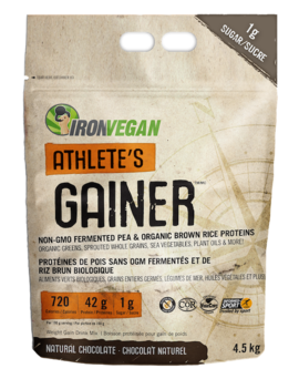 Iron Vegan Iron Vegan - Athlete's Gainer - Natural Chocolate - 4.5kg