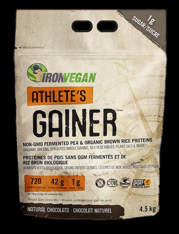 Iron Vegan Iron Vegan - Athlete's Gainer - Natural Chocolate - 4.5kg