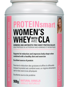Lorna Vanderhaeghe Lorna - ProteinSmart Women's Whey Protein w/ CLA - Natural Vanilla