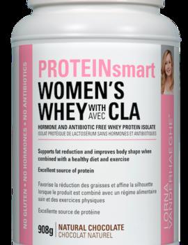 Lorna Vanderhaeghe Lorna - ProteinSmart Women's Whey Protein w/ CLA - Natural Chocolate - 908g