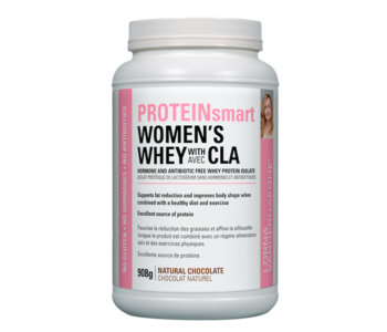 Lorna - ProteinSmart Women's Whey Protein w/ CLA - Natural Chocolate - 908g