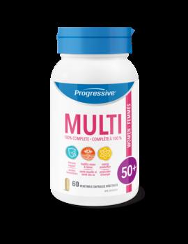 Progressive Progressive - Multi - Women 50+ - 60 Caps