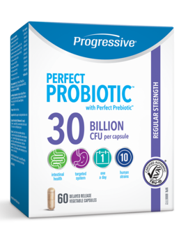 Progressive Progressive - Perfect Probiotic 30 Billion - 60 V-Caps