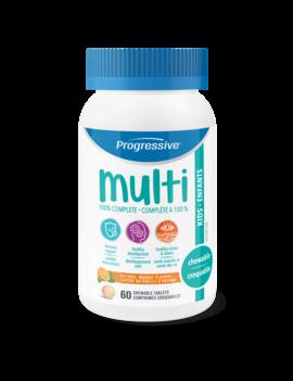 Progressive Progressive - Multi - Kids - 60 Chew Tabs