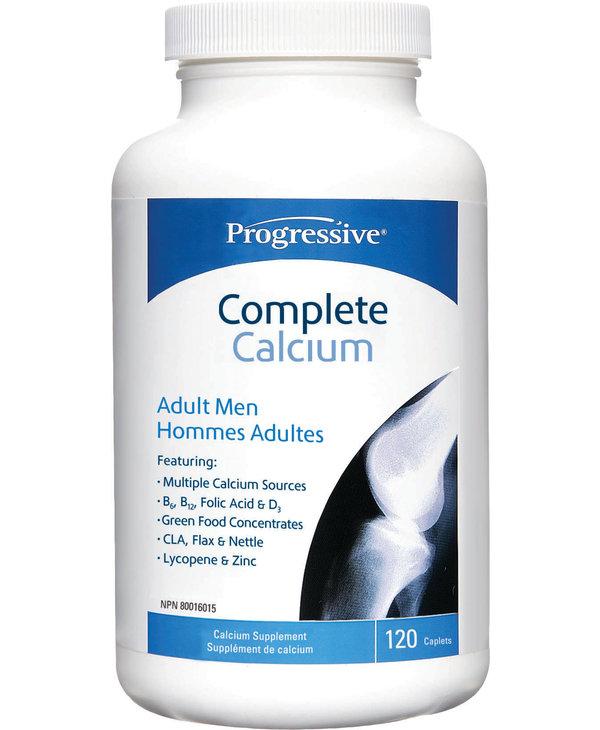 Progressive - Complete Calcium - Adult Men - 120 Caps