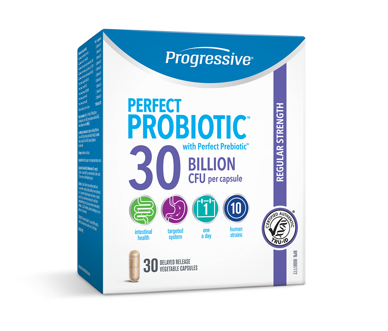 Progressive Progressive - Perfect Probiotic 30 Billion - 30 V-Caps